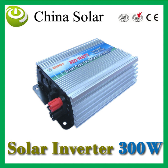 grid tie micro inverter Solar inverter DC to AC GTI300W-120/220VVAC(China (Mainland))