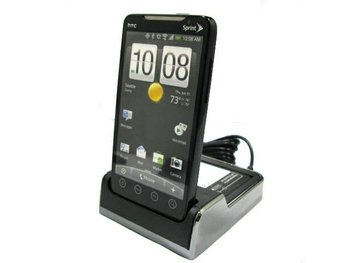 5ps/lot wholesale and retail  New!Cradle Sync Charger Battery Dock For Sprint HTC EVO 4G free shipping