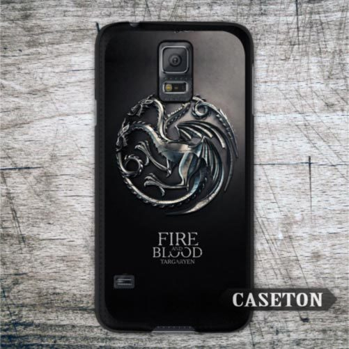 House Targaryen Game Of Throne Case For Samsung Galaxy S6 Edge S5 S4 Active S3 mini Win Note 4 3 A7 A5 A3 Core Ace 4 3 Brand New(China (Mainland))