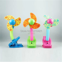 1Pcs Retail Baby Loves New Small Fan Baby Dedicated Fan baby fans Summer Crib Cart Clip
