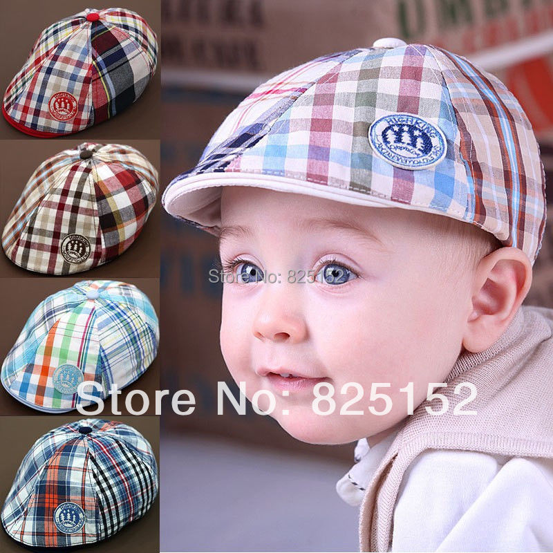 cute Spring Autumn Kid Toddler Infant Boy's Baby Hat Casquette Peaked Baseball Beret Cotton Child Sun Dribble Hats Cap Accessory(China (Mainland))