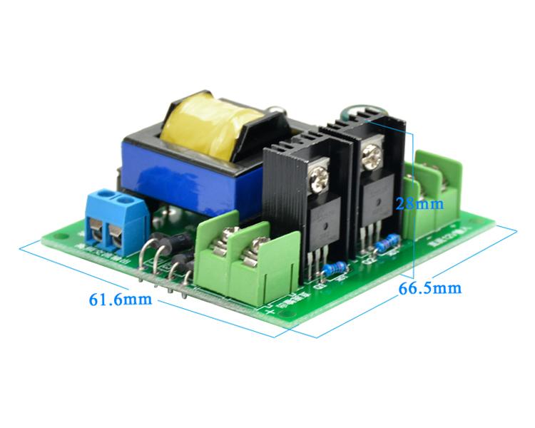 DC-AC Converter 12V to 110V 200V 220V 280V AC 150W Inverter Boost Board Transformer Power
