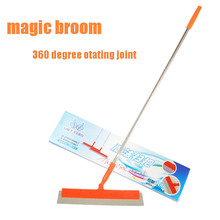 multifunction Magic Broom sweeper Dust Hair Bathrooms Wiper besom Brooms 360 degree Rotate Connector Rubber Mop Cleaning Tools(China (Mainland))