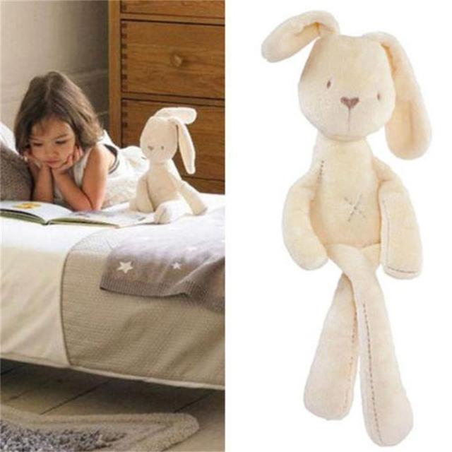 54 * 11 см милый ребенок дети животных кролик комфорт сна куклы плюшевые игрушки