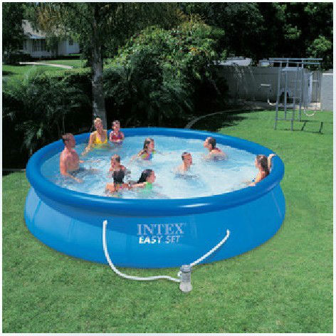 free shipping by ems intex 56420 inflatable pool swimming. Black Bedroom Furniture Sets. Home Design Ideas