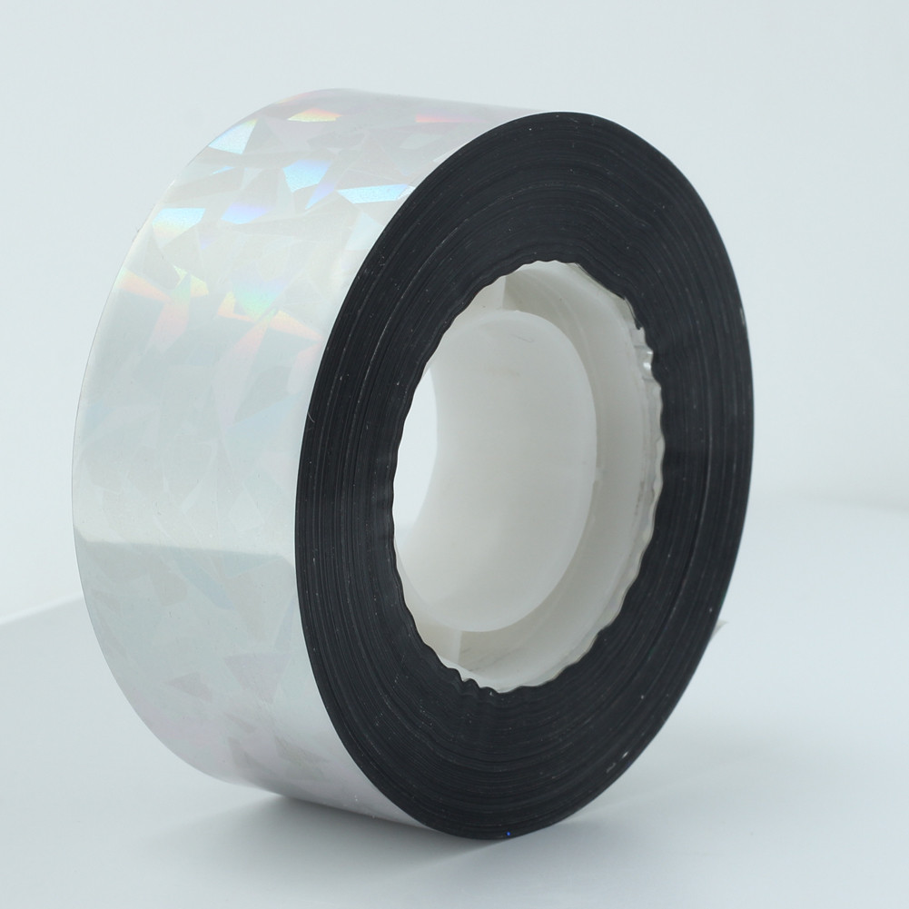 25MM*90M Audible Visual Reflective Bird Pigeons Fox Scare Repeller Ribbon Deterrent Tape Roll Gardening Pest Control Supplies(China (Mainland))
