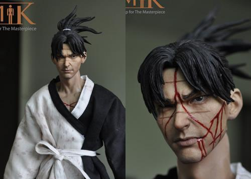 Free Shipping 1:6 Action Figure Blade of the Immortal Manji Movies Figures Scale Models Dolls DIY Accessories Toys For Children(China (Mainland))