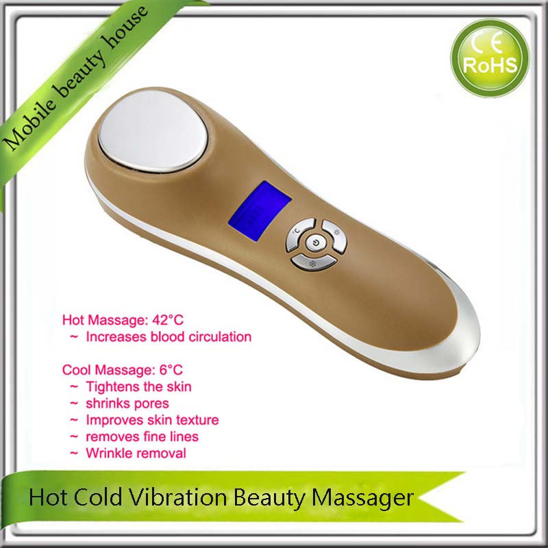 Derma Roller Spa Face Lifting Collagen Stimulation Wrinkle Removal Facial Massage Machine<br><br>Aliexpress