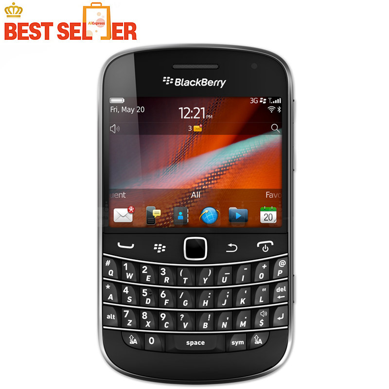 9930 original blackberry 9930 cell phones unlocked 3g wifi gps phone 5MP camera 768MB ROM 8GB RAM free shipping(China (Mainland))
