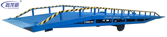 Easy operation hydraulic mobile container load ramp(China (Mainland))