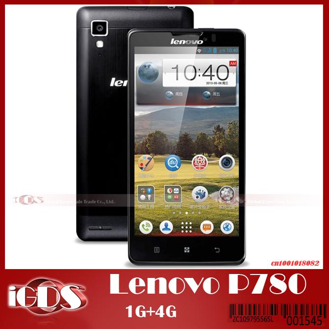 "Original Lenovo P780 Express Quad Core MTK6589 android 4.2 phone 4GB ROM with 5.0"" IPS Screen 4000mah battery Smart phone(China (Mainland))"