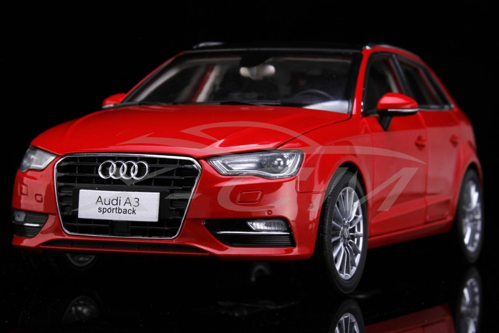 Diecast Car Model Audi A3 Sportback 1:18 (Red) + SMALL GIFT!!!!!!!!!!!(China (Mainland))