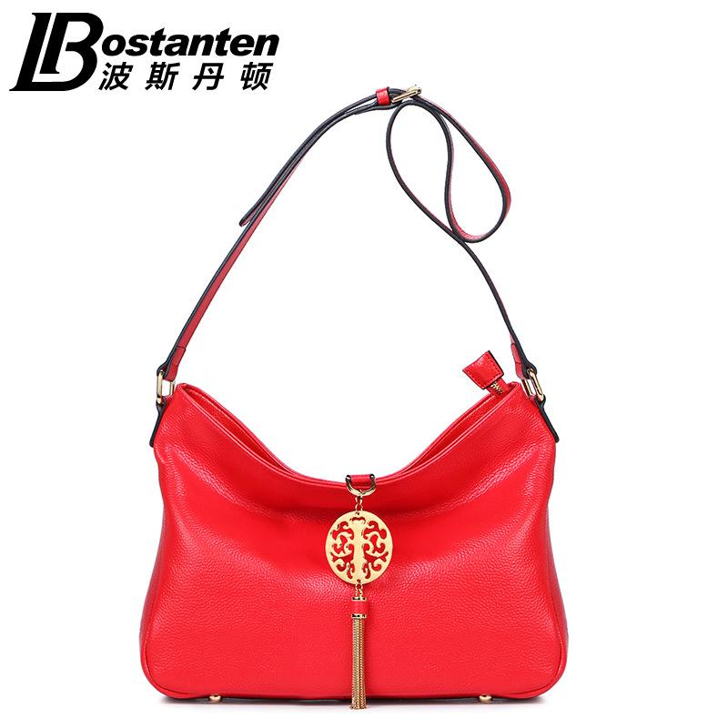 Women Handbag 2016 New Fashion Genuine Leather Handbags Women Ladies Famous brand Shoulder Notebook Bags<br><br>Aliexpress