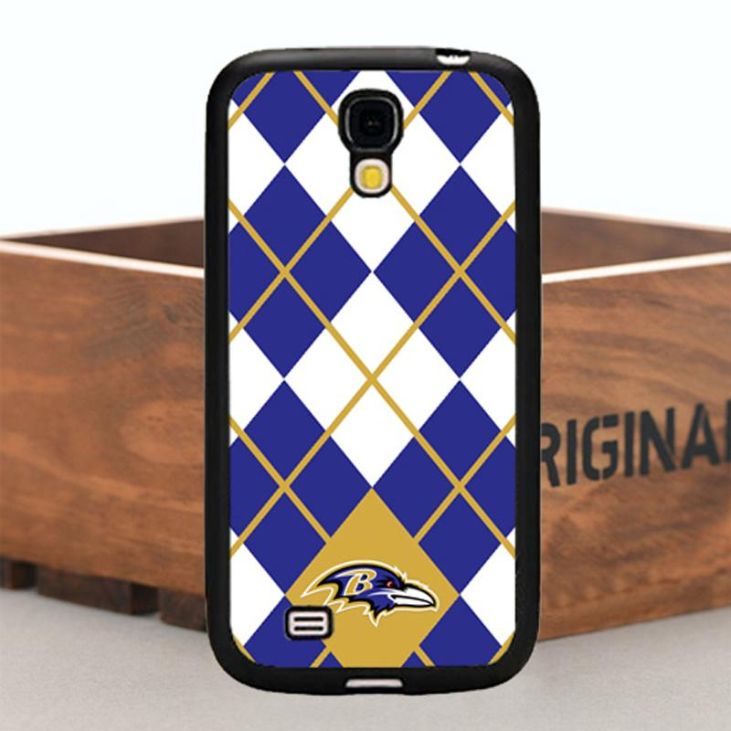 Hot Sale Design TPU Case For Samsung Galaxy S4 Rubber Phone Case Cover Design for Baltimore Ravens Miami Dolphins Football Teams(China (Mainland))