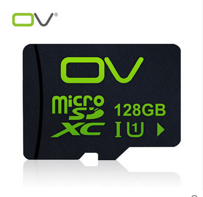 2016 OV Real Capacity High Speed CLASS10 U1 128GB Memory Card TF Card Micro SD Card SDXC Pass H2testw Free Shipping(China (Mainland))