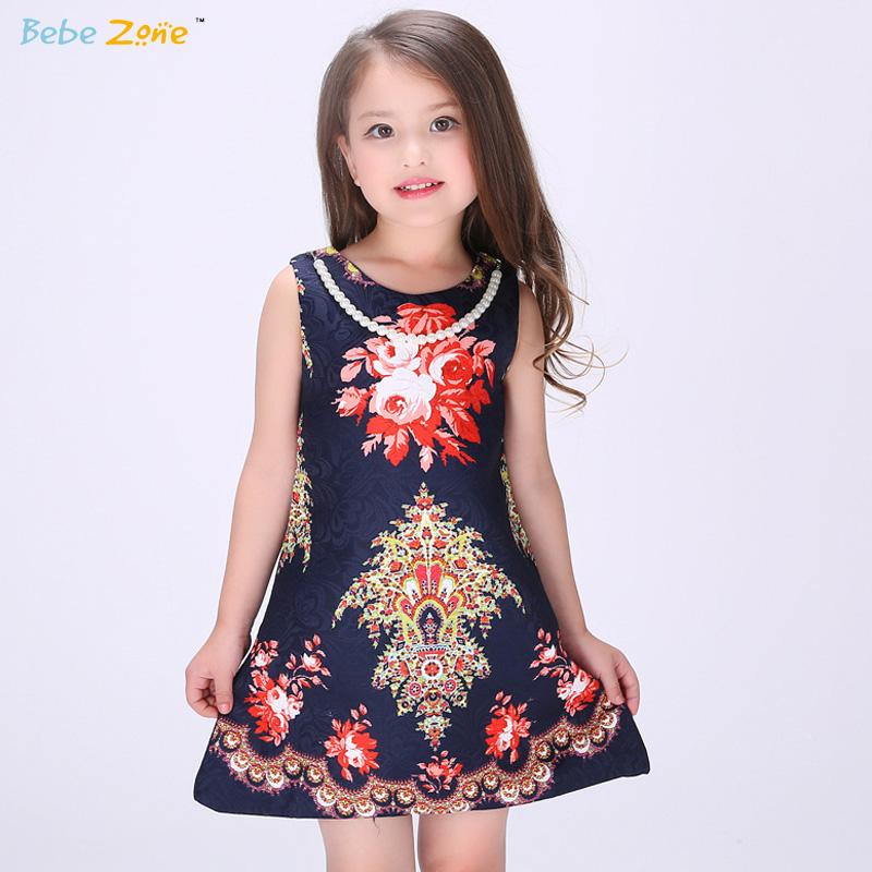 Brand Designer Bay Girl Dress Summer Floral Princess Girls Dresses Party Vestido Infantil Kids Clothing Top Quality AMC144(China (Mainland))