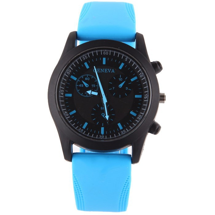 New Fashion Sport Casual Watch Men Women Pure Color Jelly Silicone Watches Students Elegant Wristwatches  Clock Quartz Watch<br><br>Aliexpress