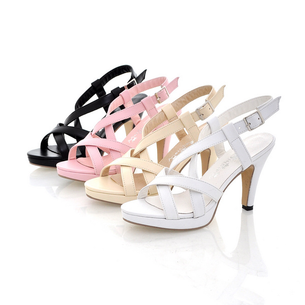 free shipping NEW high heel high heels fashion women sexy A162 Hot sell size 32-43 roman sandals big size 10 11 12(China (Mainland))