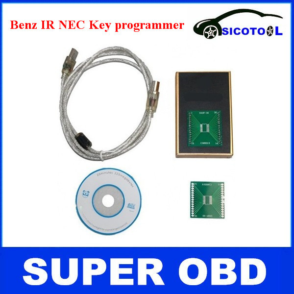 Hot sale  2014 for mercedes for benz nec key programmer MB IR key prog Auto NEC Key Programmer<br><br>Aliexpress