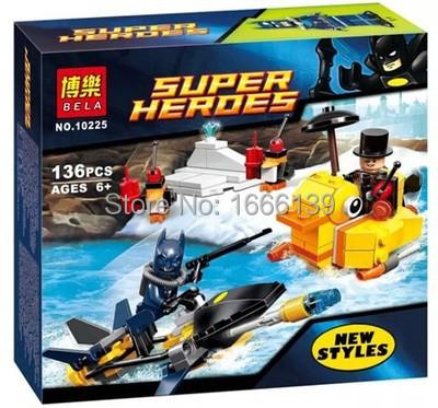 Bela super hero Superman Batman Fighter Building Block 10225 children's gift Compatible Lego LR-120 - AINA Trading Co.,Ltd store