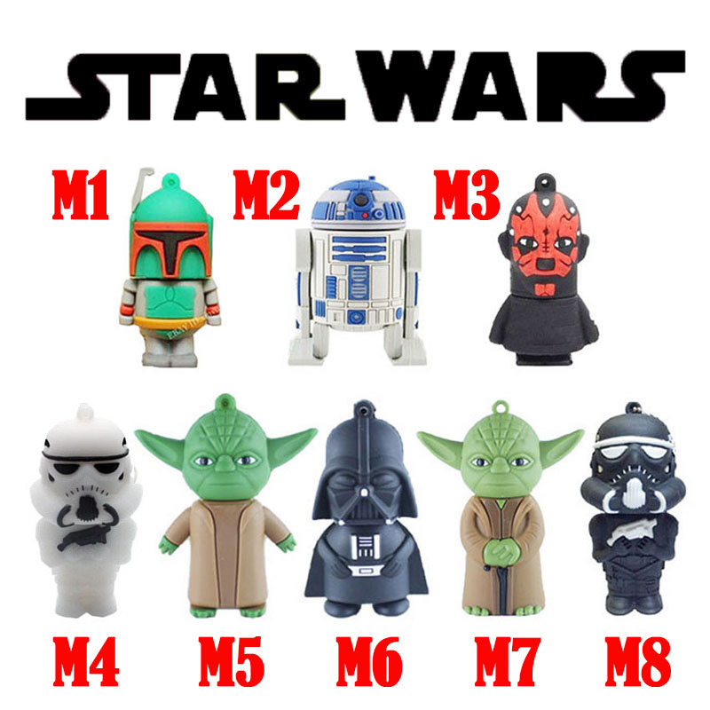 Star wars usb flash drive 32gb usb stick 4gb pen drive free shipping usb flash 8gb