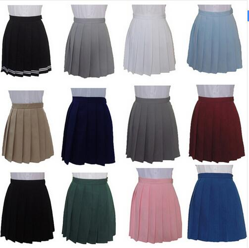 Free Shipping Hot Sale New Cute Girls School Uniforms Japan Anime Game Love Live Cosplay Skirt Lady Style Skirt Hot Sale(China (Mainland))