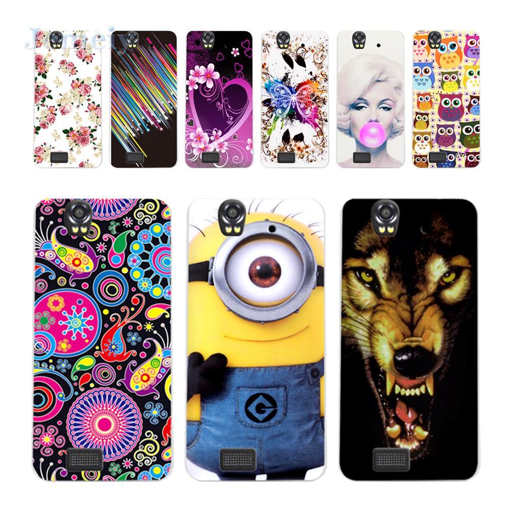 In Stock Hot Design Phone Bag For Fly IQ4512 EVO Chic 4 Quad, IQ 4512 Minion Print Soft Silicon Case Slim TPU Back Cover +Gift(China (Mainland))