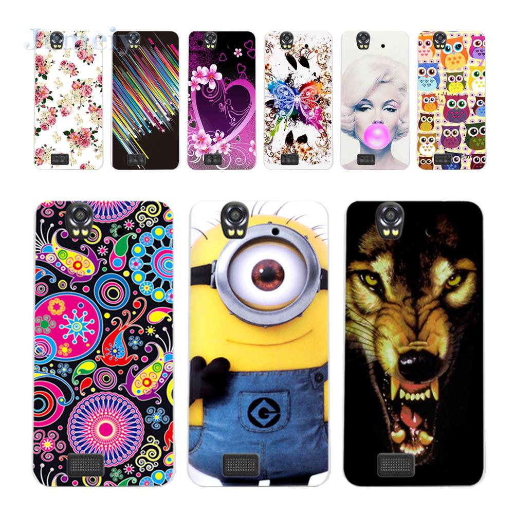 In Stock Hot Design Phone Bag For Fly IQ4512 EVO Chic 4 Quad, IQ 4512 Minion Print Soft Silicon Case Slim TPU Back Cover +Gift(China (Mainland))