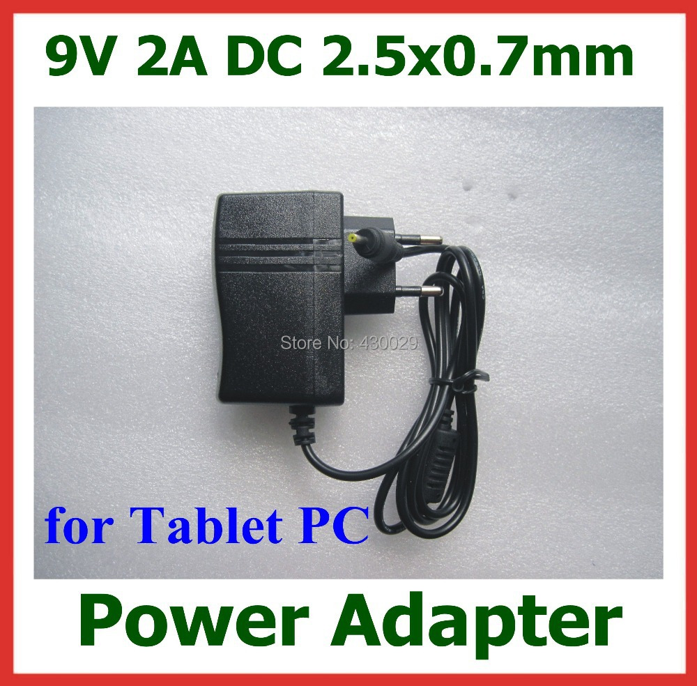 Universal 9V 2A 2.5mm Tablet Battery Charger Power Supply Adapter for Cube iWork8 Chuwi V3 Flytouch 3 4 VOYO Winpad A1 MINI(China (Mainland))