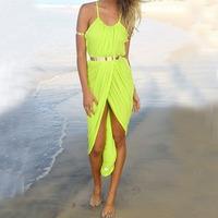 новые сексуальные женщины ремень длинное платье лето пляж богемная макси случайные сарафан по лучше