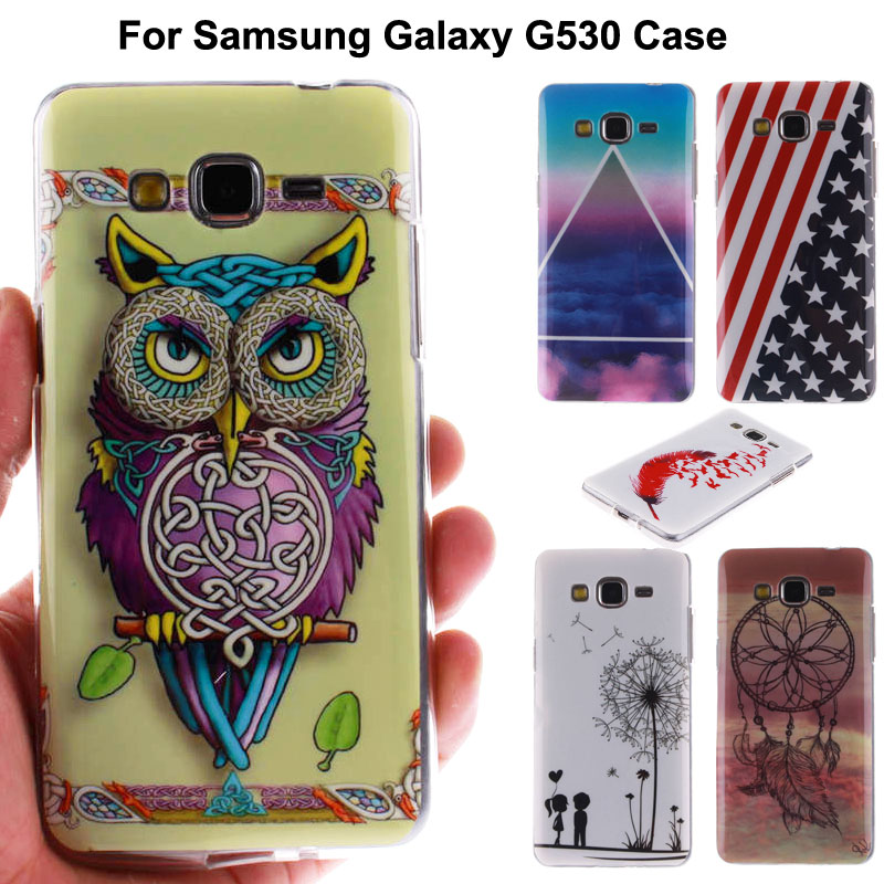 Glossy IMD Print Soft TPU Cell Phone Case Cover Samsung Galaxy Grand prime G530 G530H G5308W Shockproof Bags - Asixo Online Store store