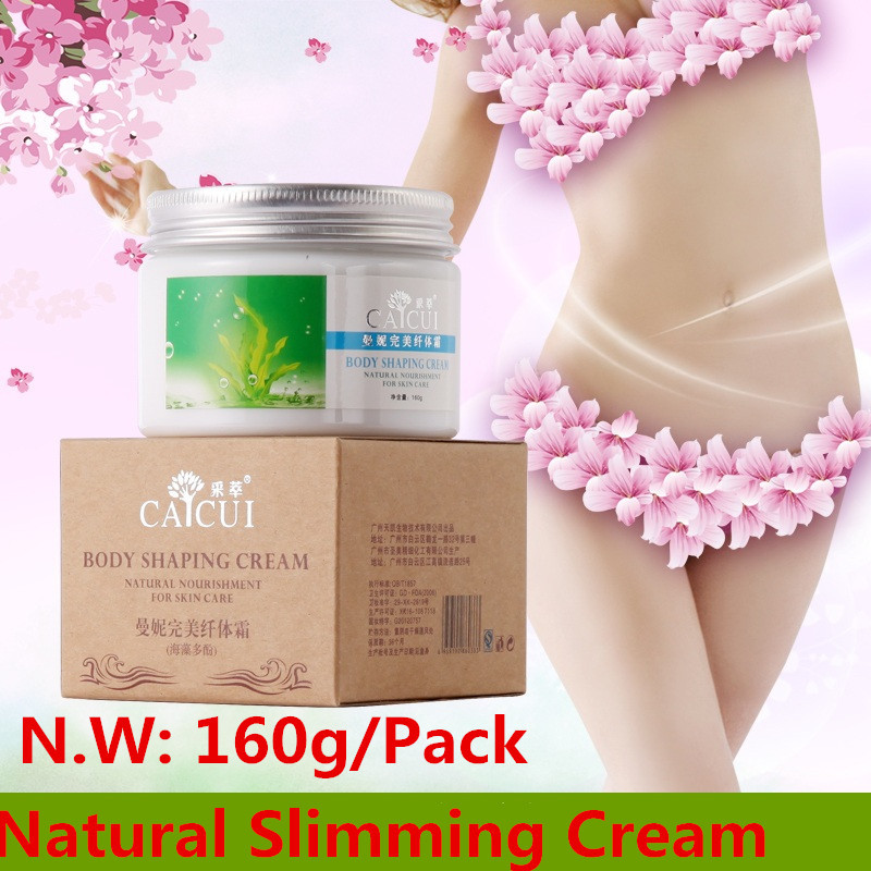 2015 Losing Weight 2 Packs Caicui Natural Slimming Cream loss Weight Creams Fat Burning Anti Cellulite