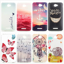 Ultra-thin Luxury Mandala Flower Butterfly Printed TPU Soft Back Cover Silicone Phone Protective Cases for Sony Xperia E4 / Dual