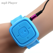 2015 Fashion High Quality Mini Watches Mp3 Player With TF Card Slot Electronic Products sports mini MP3 Music  LZH0098 T0506(China (Mainland))