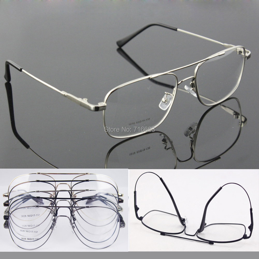 Eyeglass Frame Large : Memory-Titanium-Flexible-Full-flex-Large-Size-Small-size ...