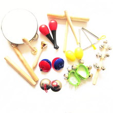 Orff instruments kits children percussion 11 musical instruments(China (Mainland))
