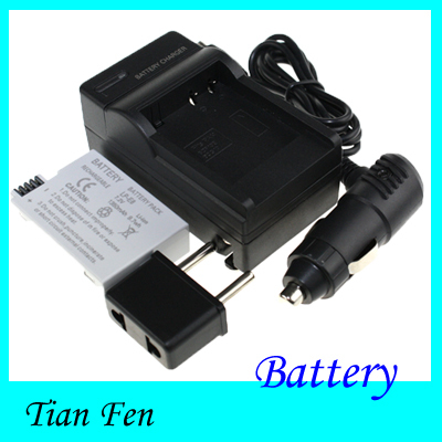Hot Sale 1pcs Battery +Charger LP-E8 LP E8 Rechargeable Li ion Battery for Canon 500d 600d(China (Mainland))