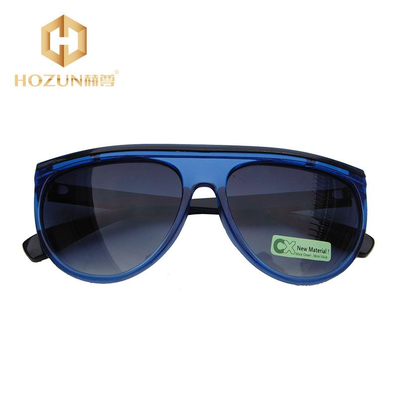 Gray Gradual Flight Type Transparent Blue Frame Brand Designer With Logo And Box Sunglasses Oculos De Sol Feminino AS012 Z50(China (Mainland))
