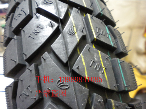 Фотография Tnt motorcycle tyre 350-10tl armour vacuum off-road tire 8 tyre
