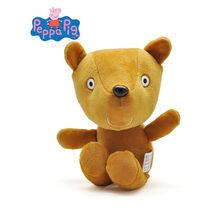 13 centímetros Genuíno porco peppa 2018 decorações da Festa de Personagens de brinquedos de pelúcia Boneca de Brinquedo Crianças Brinquedos de Presente Brinquedos de pelúcia Para As Crianças(China)