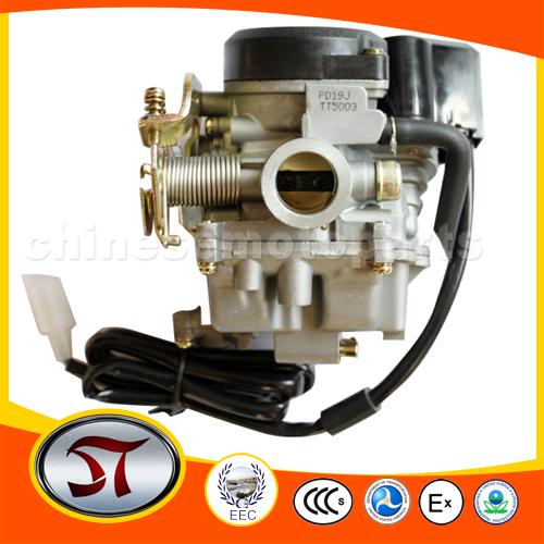 Kunfu 19 мм карбюратор с ускорением насос для GY6 50cc-90cc мопед
