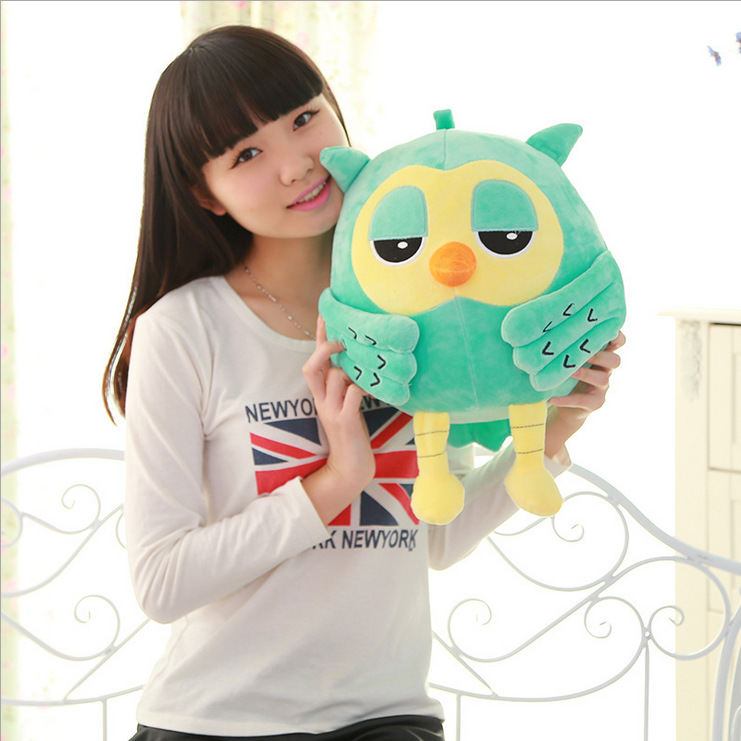 20CM Popular Night Owl Plush Toy Baby Toys Stuffed Animal Doll 2 Colors Soft Baby Birthday Gifts Kids Toy PT041(China (Mainland))