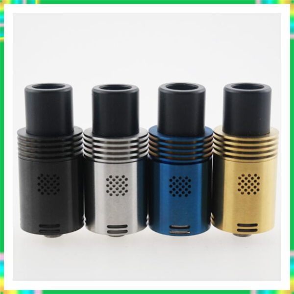 Hot !the newest mutation X V4 RDA atomizer 510 Vaporizer E Cigarette wtih Wide Bore Drip Tips 22mm free ship in 2015(China (Mainland))