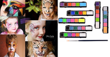 6Color/set Face Body Paint Oil Painting Art Make Up Theatre Clown Halloween Party Fancy Dress Makeup Tools Body Face Painting (Hong Kong)