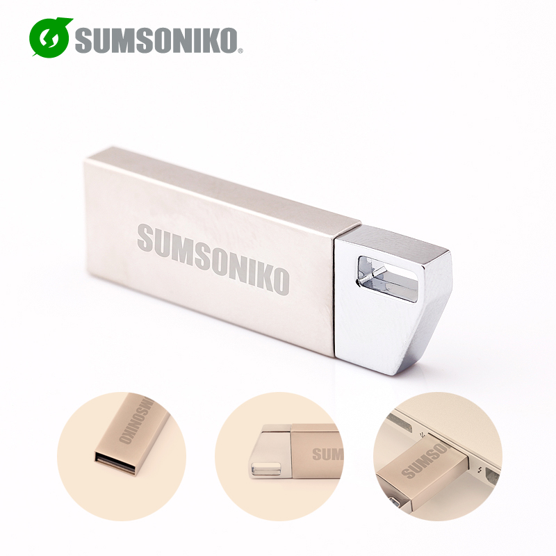 SUMSONIKO USB Flash Drive High Speed USB 2.0 Flash Pen Drive Creative USB Disk Memory Stick 64GB 32GB 16GB 8GB 4GB 2GB Can Track(China (Mainland))
