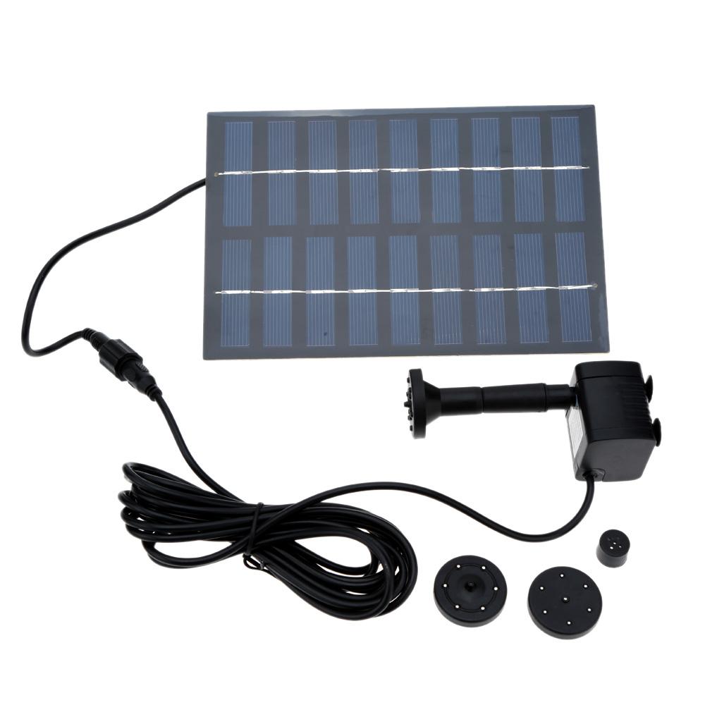 1 conjunto professionnelle solaire fontaine puissance système d'irrigation solaire piscine pompe à eau jardin des plantes Sun arrosage extérieur(China (Mainland))