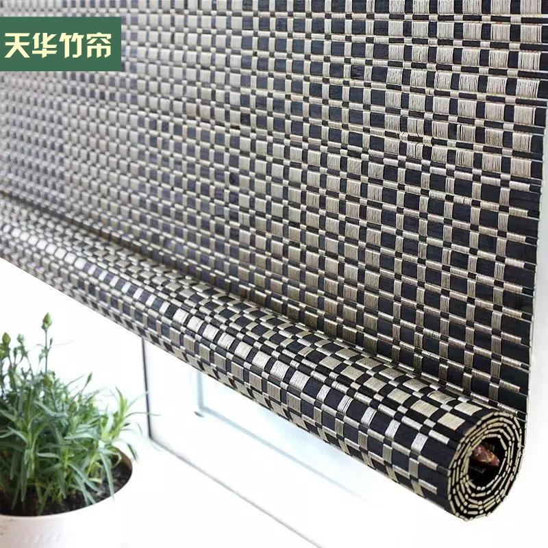 custom encryption bamboo curtain shutter lifting outdoor mosquito ...