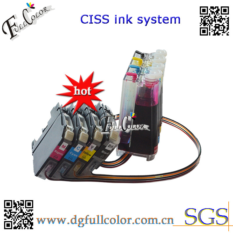 Фотография Free shipping  2013 New Ciss for Borther LC123 LC125 Ink System with chip and inks compatible MFC-4110DW ink kits