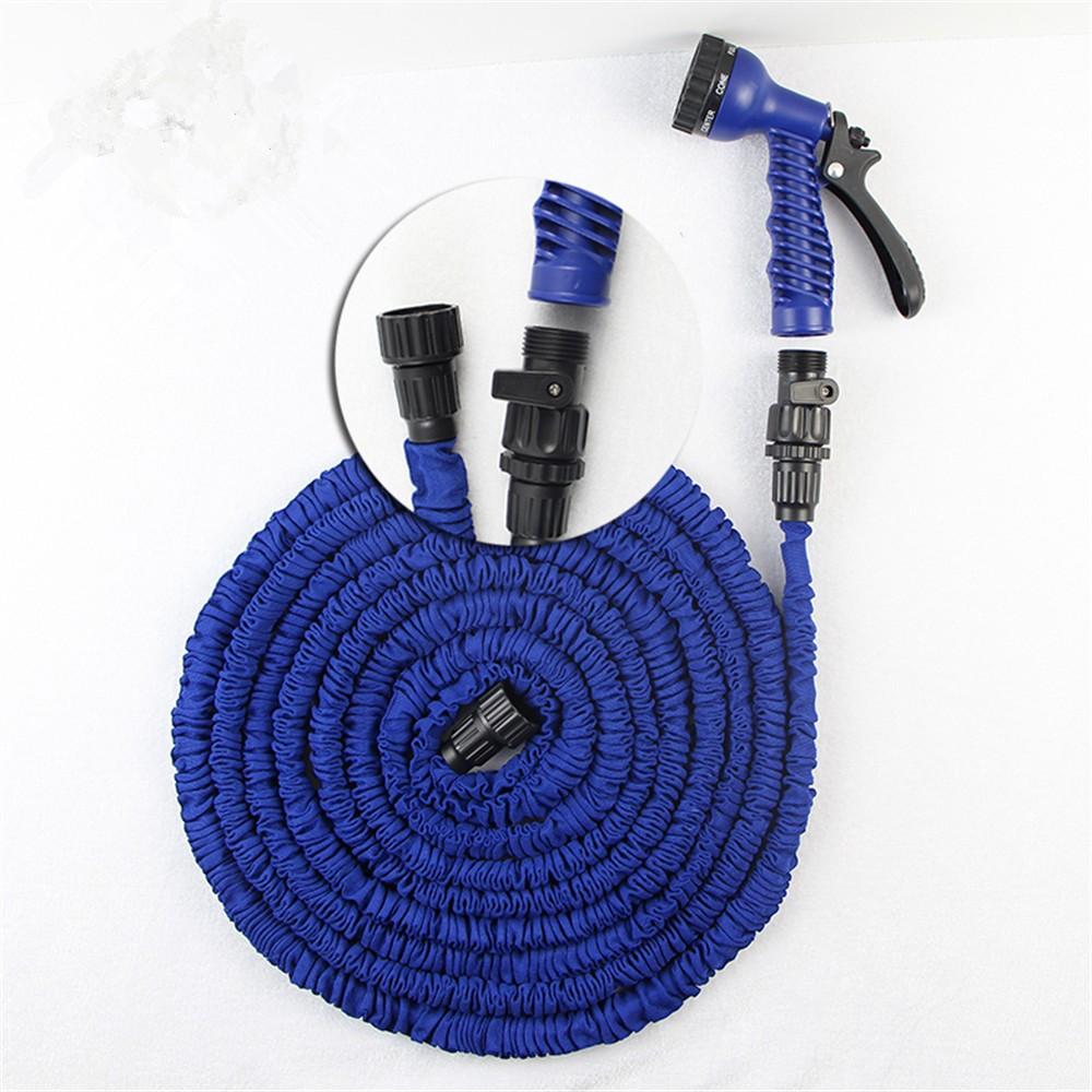 Magic Hose 100ft Garden Water Hose Expandable Pipe Flexible Sprinkler Dripping Irrigation Hose with 7 Function Gun New Year Gift