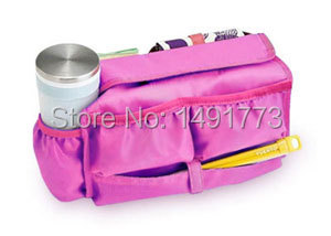 Cheap and Casual Outdoor Lady Storage Bag in Bag hot pink travel Cosmetic Case(China (Mainland))